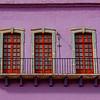 Purple Wall Will Balcony