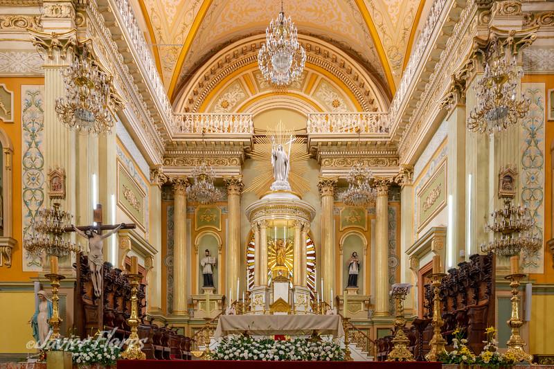 Nuestra Señora De Guanajuato Basilica Altar