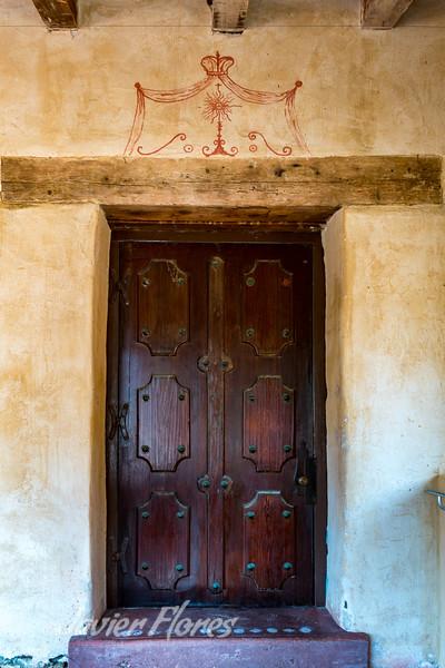 Carmel Mission Door