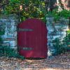 Garden Red Fence