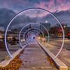 San Jose Sonic Runway at Sunset