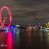 River Thames and London Eye
