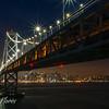 Bay Bridge with San Francisco Skyline