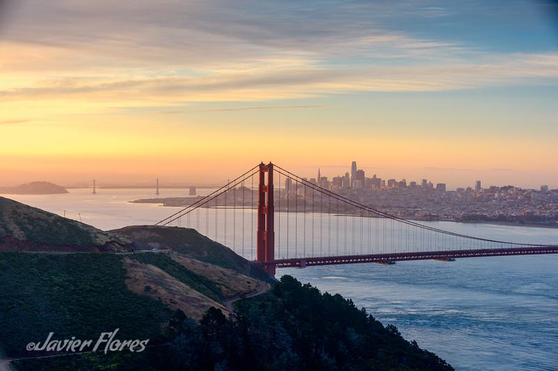 Sunrise Over the San Francisco Bay