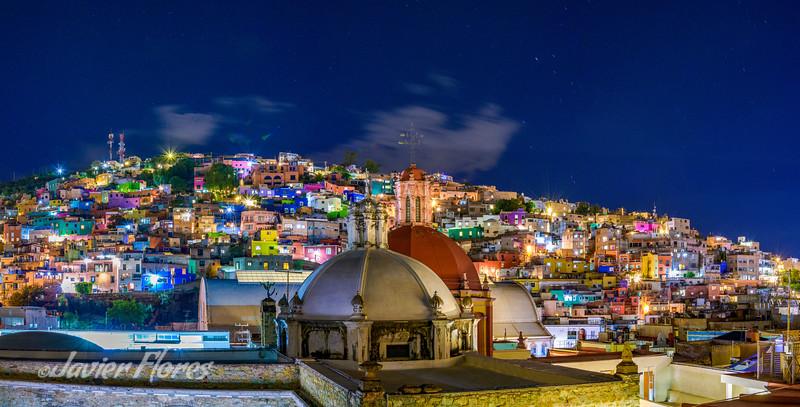 Guanajuato Rooftop Panoramic