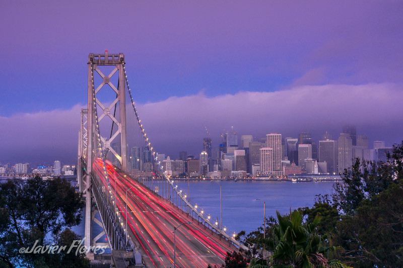 Bay Bridge with Skyline