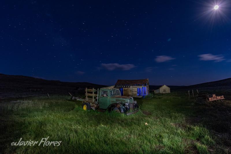 Farm truck at Bodie