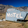 Rustic Motel Sign