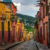 San Miguel De Allende Colorful Streets