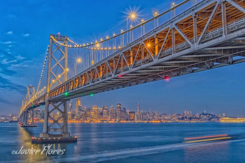 Watercolors Bay Bridge