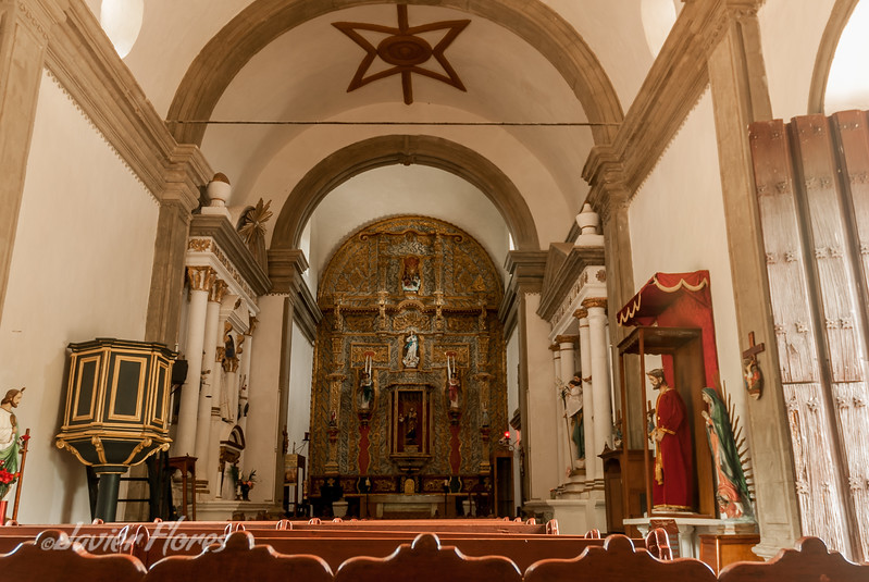 Interior of Copala Church Alter