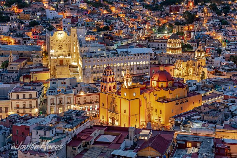 City Overview of Guanajuato