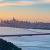 San Francisco and Golden Gate Sunrise