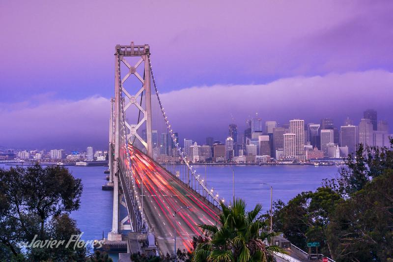 Bay Bridge at Rush Hour