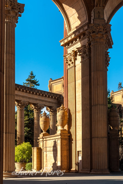 Details of Palace of Fine Arts