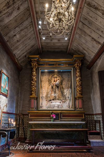 Chapel at Carmel Mission