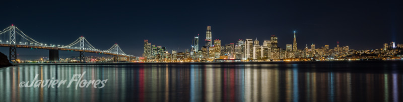 San Francisco Skyline with Bay Bridge