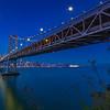 San Francisco Bay Bridge and Skyline.