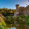 Castello Di Amorosa moat