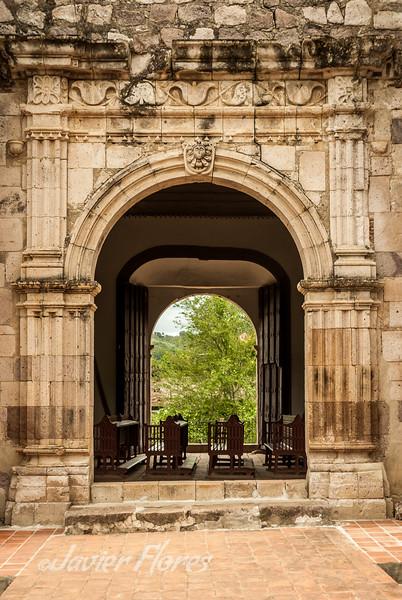 Side Entrance of Copala Church