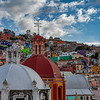 Church Domes Overlooking Guanajuato