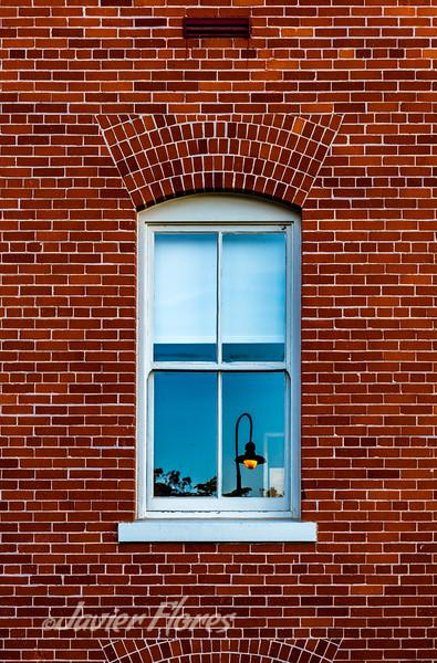 Reflections on Window, Presidio, San Francisco