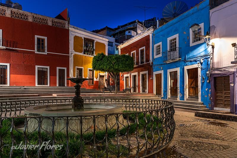 Plaza Los Angeles, Guanajuato Mexico