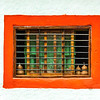 Colorful Bared Window
