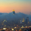 San Francisco Rolling Fog Sunset