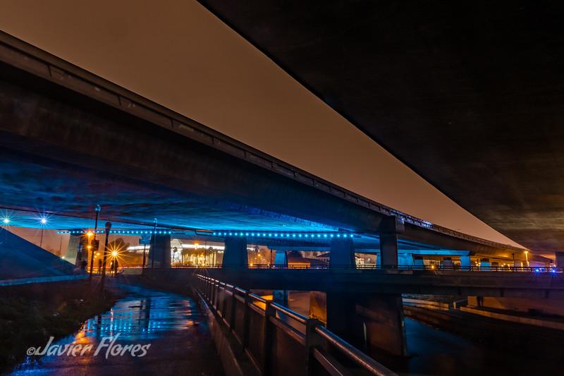 Under the Bridges in San Jose California