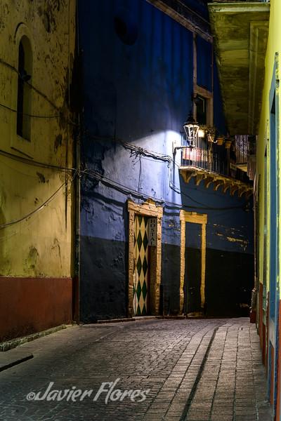 Lonely Callejon in Guanajuato