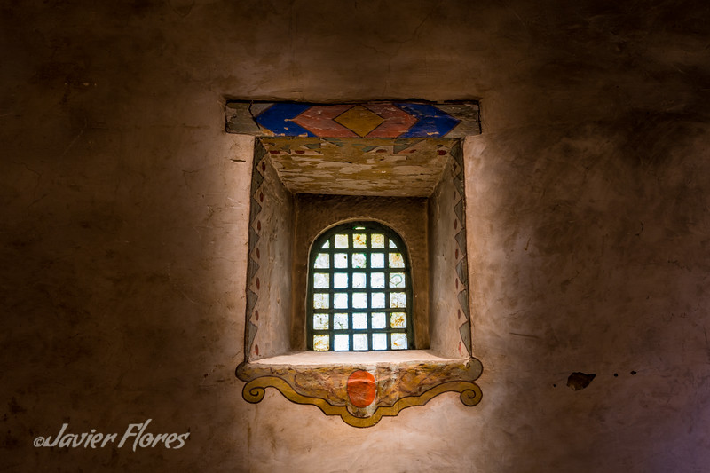Carmel Mission window