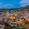 Guanajuato center at sunset