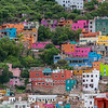 Colorful Homes in Guanajuato Mexico