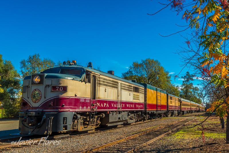 Wine Train at Napa Valley