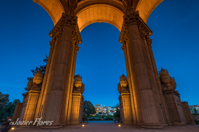 Arches of The Palace of Fine Arts