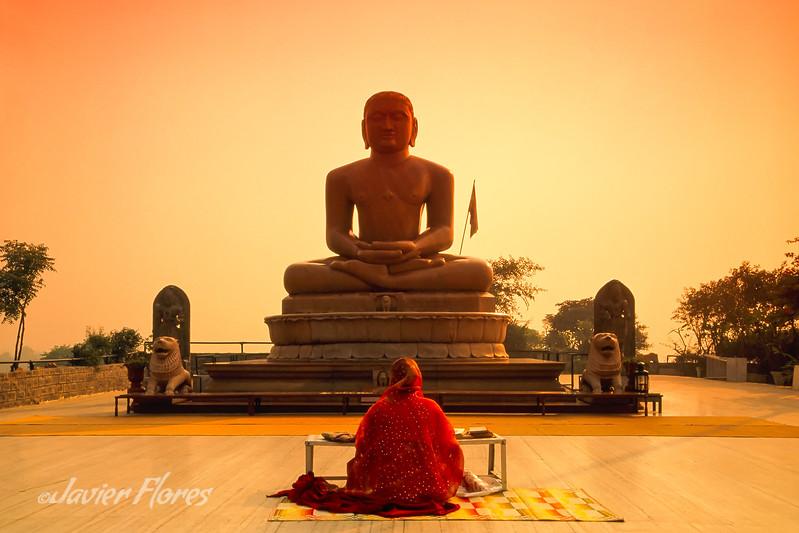 Sitting Buddha, New Delhi India