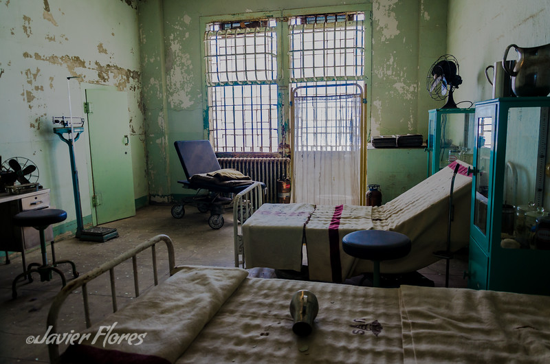 Hospital Room At Alcatraz