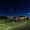 Night at Bodie Ghost Town