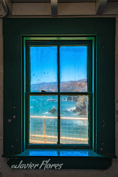 Point Bonita Lighthouse Window View