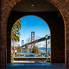 Archway with Bay Bridge