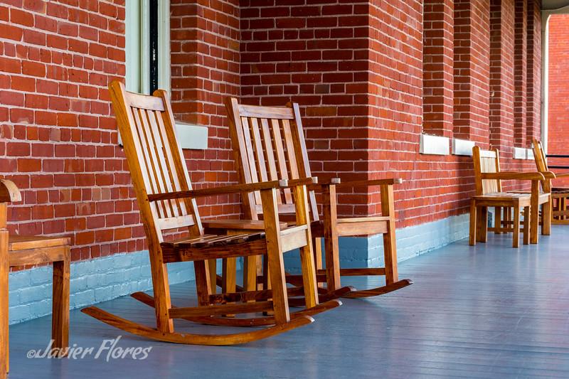 Rocking Chairs at the Presidio, San Francisco