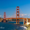 Golden Gate Bridge, view from Baker Beach