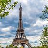 Seine river with Eiffel Tower