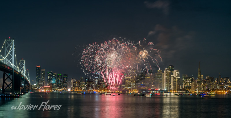 San Francisco New Year Fireworks