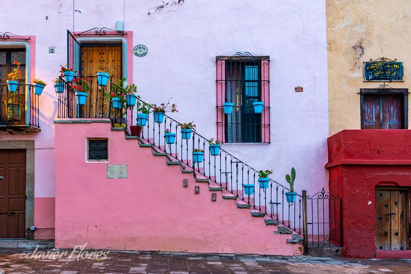 Stairs and Pots, Plazuela De San Roque