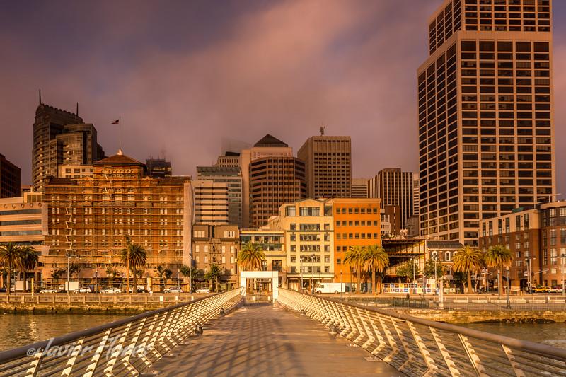 Peir to San Francisco Skyline