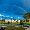 Rainbow Over The Presidio San Francisco