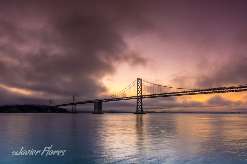 Sunrise with Bay Bridge