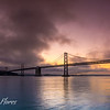 Sunrise with Bay Bridge